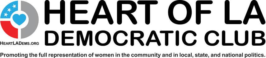 Heart of La Democratic Club logo