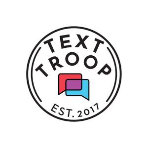 Open Progress Text Troop logo