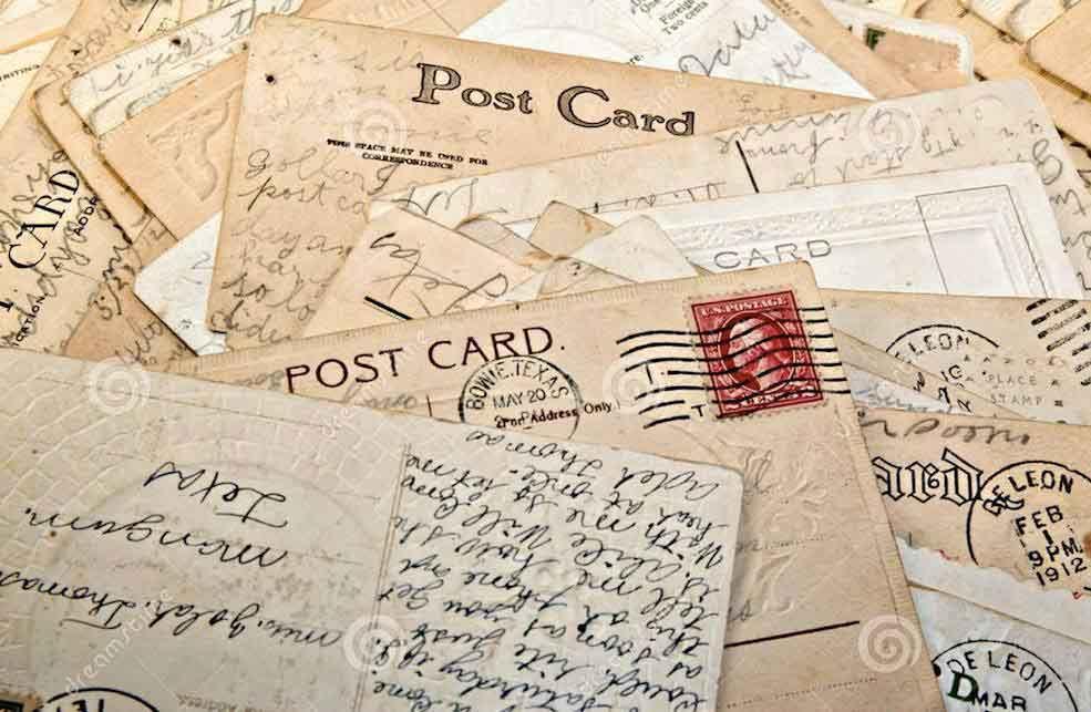 postcarding