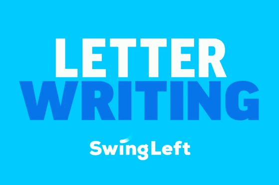 Letter writing Swing Left logo