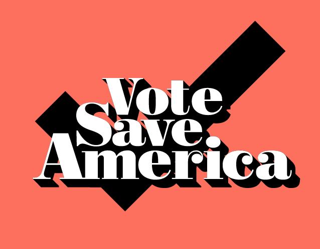 Vote Save America logo