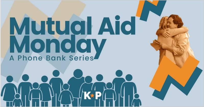 Katie Porter Mutual Aid Monday