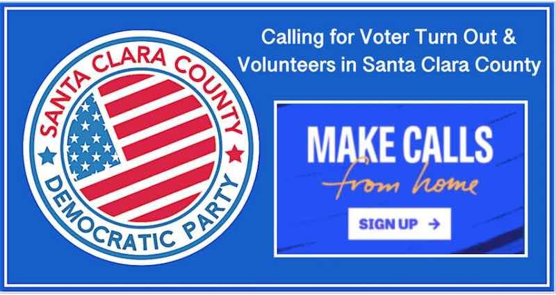 Santa Clara County Democratic Party Make Calls from Home