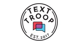 Open Progress Text Troop text banking