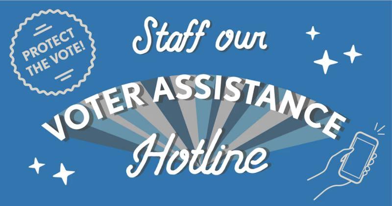 NCDems Voter Assistance Hotline