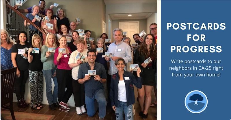 Santa Clarita Valley Democrats Postcards
