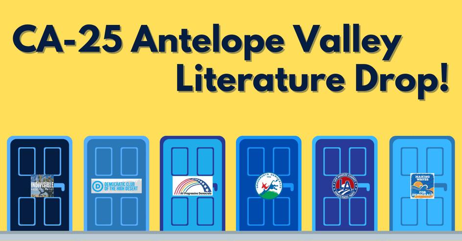 CA25 Antelope Valley Literature Drop