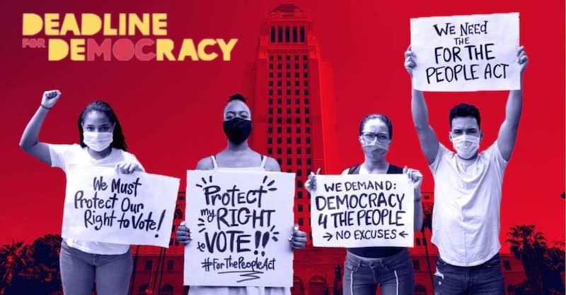 Deadline for Democracy rally
