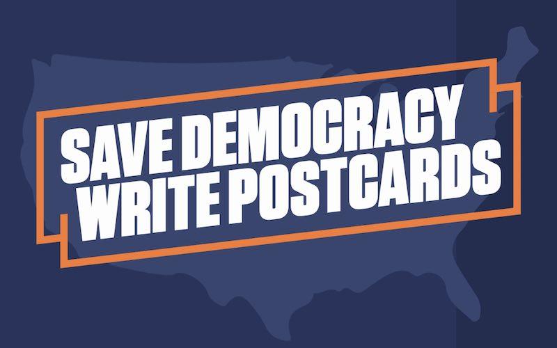 Postcards to Key States Progresive Turnout Project