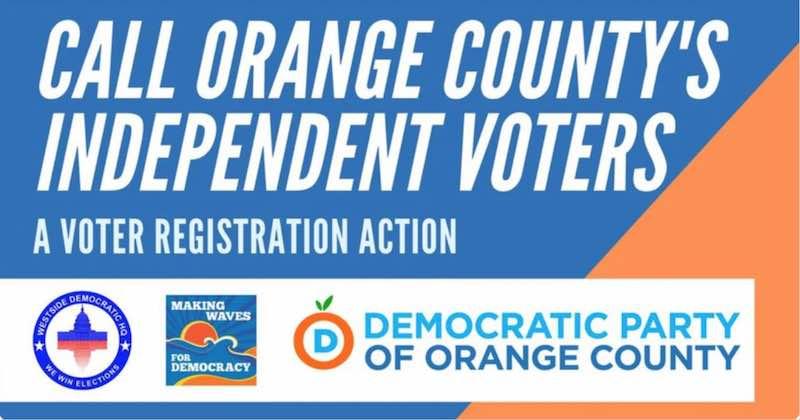 Voter Registration for Independent Voters in Orange County